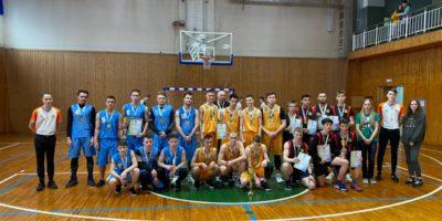 Спартакиада студентов СПО по баскетболу среди юношей