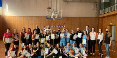 Спартакиада студентов СПО по баскетболу среди девушек
