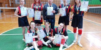 Соревнования по волейболу в рамках Спартакиады студентов СПО среди девушек
