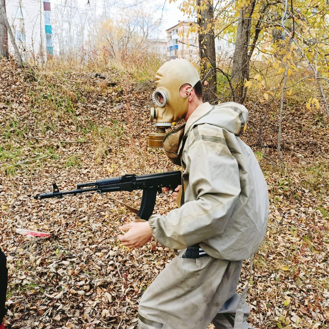 Районная военно-спортивная игра «Победа 2021»